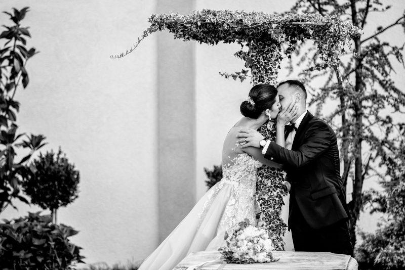 fotografie de nuntă elegantă