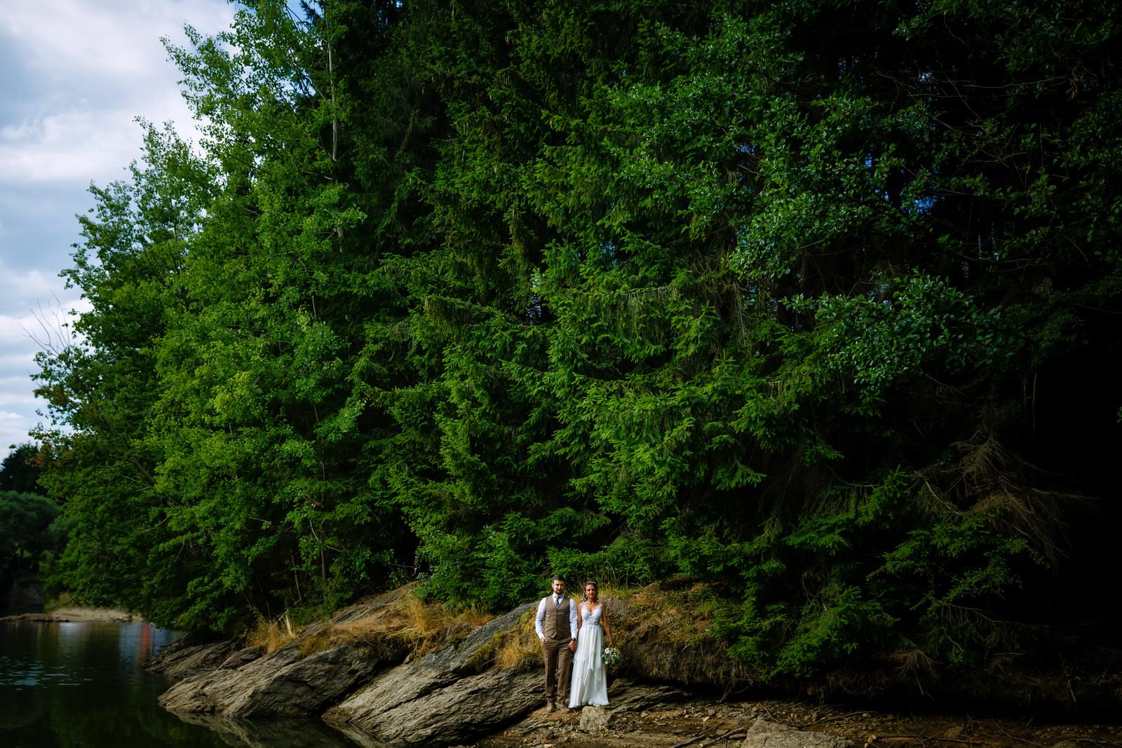 fotografie de nuntă la munte și elopement